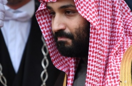 Saudi Arabia is to use French expertise to set up a national opera and orchestra under an agreement signed that underlined the modernising agenda of the kingdom's crown prince as he began his official trip to Paris. / AFP PHOTO / Eric FEFERBERG