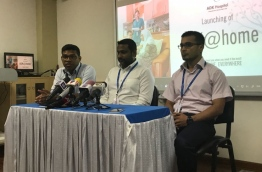 Senior members of ADK during the press conference. PHOTO/MIHAARU