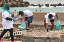 Doctor's Day run and clean up -- PHOTO: MALDIVES MEDICAL ASSOCIATION