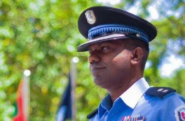 Chief Inspector Abdul Matheen Abdul who was appointed as the commander of the Special Operations Unit of Maldives Police on April 8, 2018 --