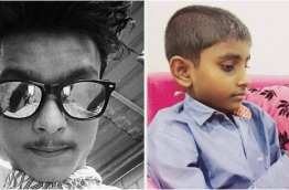 Boys Ali Fahmee (L) and Mayaameen Ali (R) lost at sea while swimming.