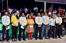 MDP members pictured at a party gathering. PHOTO/MDP