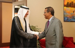 OIC Secretary General and Foreign Secretary of the Maldives