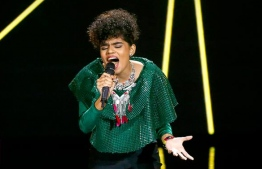 Aishath Azal Zahir – the winner of Maldivian Idol Season 3. PHOTO/PSM