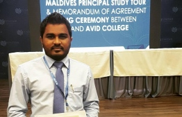 Ahmed Mujahid appointed as new Deputy Minister of Economic Development. PHOTO: MIHAARU