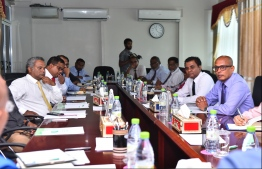 Elections commission meeting political parties regarding presidential election 2018. PHOTO/ELECTION COMMISSION