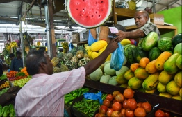 Traveller's Market, May 16, 2018: Scenes from the local market in Male on the first day of the Islamic holy month of Ramadan. PHOTO: HUSSAIN WAHEED/MIHAARU