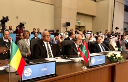 Former Foreign Minister Mohamed Asim pictured at the OIC Summit in Istanbul Turkey in May 2018. PHOTO/FOREIGN MINISTRY
