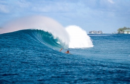 Thamburudhoo offers some amazing swells and great conditions. PHOTO: MICKEY NATTS