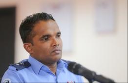 Spokesperson for Police Shifan. PHOTO: MIHAARU