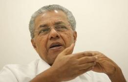 Chief Minister of Kerala Pinarayi Vijayan --