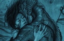 """Official artwork for Guillermo del Toro's """"The Shape of Water"""". IMAGE/JAMES JEAN"""