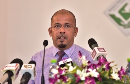 President of the Elections Commission (EC), Ahmed Shareef.