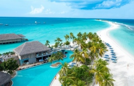 Aerial view of Finolhu Maldives in Baa Atoll. The resort is now under the management of German company Seaside Hotels and Resorts. PHOTO: FINOLHU MALDIVES