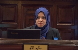 Fathimath Niusha, the newly appointed Secretary General to the parliament -
