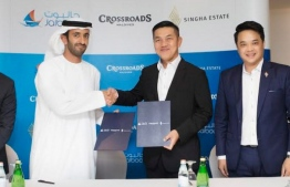 Singha Estate of Thailand awards the project to manage its luxury marina in Crossroads being developed in Emboodhoo lagoon, to Jalboot Holdings of Abu Dhabi,