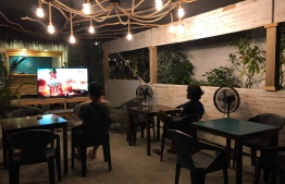 Seven Corals is an intimate, comfortable and cosy place to watch the FIFA World Cup 2018 Finals with your closest buds, and just far enough away from Male'. PHOTO: SEVEN CORALS