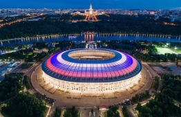 The Luzhniki is the main stadium of the upcoming FIFA World Cup: the Opening Match, three group-stage encounters, a Round-of-16 tie, a semi-final and the Final are all being held here.  PHOTO: FIFA