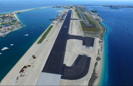 MACL's new runway nears completition, gearing up for test runs in August before official opening end of the month. PHOTO: MIHAARU
