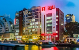 Bank of Maldives Ltd (BML) head office at Male City. PHOTO/BML