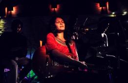 Saithahteh Boalaananhey, live at Seahouse 2013. PHOTO: AATHI