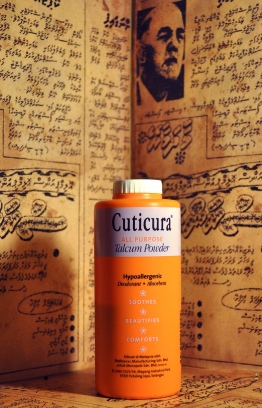 An ever-bright packaging and skincare benefits aplenty, this product extended its uses beyond being dabbed into the powder puff. Cuticura All Purpose Talcum Powder helped with numerous skin conditions and was used medicinally as well. PHOTO: LUJINE RASHEED / THE EDITION