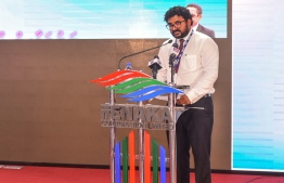 During the signing ceremony held to award Fenaka Corporation's USD 53 million sewerage project to Haycarb of Sri Lanka.