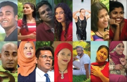 Stars from the Maldivian Film Industry throughout the 1990's. PHOTO: VARIOUS