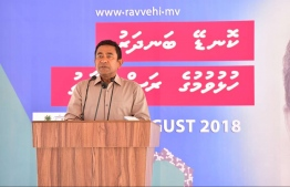 President YAMIN PPM CAMPAIGN VISIT TO GA.KONDEY / PRESIDENTIAL ELECTION 2018