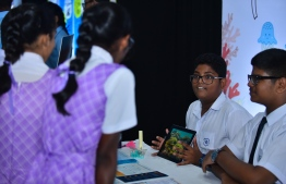 At the Farukoe Expo held at the National Art Gallery on August 9, 2018. PHOTO: HUSSAIN WAHEED/THE EDITION
