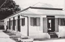 Hukuru Miskiyy (Friday Mosque) in the 1970's - PHOTO: VONADHONA RAAJJE