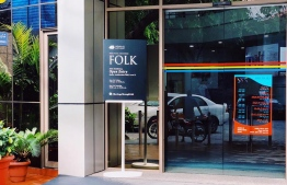 'Heritage through Folk' sign outside the STELCO building. PHOTO:FACEBOOK/OEVAALI ART SHOP