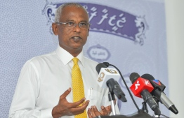 OPPOSITION CANDIDATE IBRAHIM MOHAMED SOLIH PRESS / PRESIDENTIAL ELECTION 2018