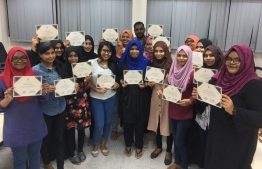 Lawyers and paralegals in Addu City that have completed their training with FLC,  March 2018. PHOTO: FLC