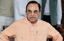MP of the upper house of the Indian Parliament 'Rajya Sabah' and member of ruling party BJP's national executive committee, Subramanian Swamy.