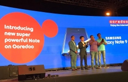 Ooredoo launches Galaxy Note 9 in Maldives. PHOTO: OOREDOO
