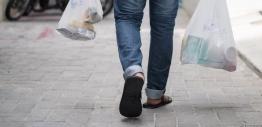 Goods being carried in plastic bags. PHOTO: MIHAARU