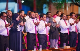 The beginning of the PPM meeting. PHOTO: MIHAARU