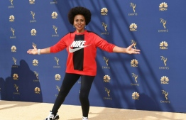 Jennifer Lewis arrives for the 70th Emmy Awards at the Microsoft Theatre in Los Angeles, California on September 17, 2018.  / AFP PHOTO / VALERIE MACON