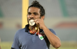 Shaakitte with the medal. PHOTO: IMAGESMV