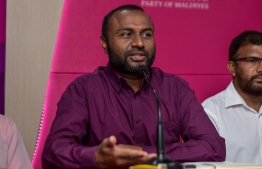 Running mate of the ruling Progressive Party of Maldives (PPM), Dr. Mohamed Shaheem Ali