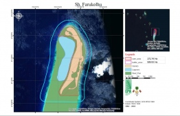Ministry of Environment and Energy announced the protection of Farukolhu, Shaviyani Atoll  with all harmful activities banned in the core area, and minor allowances for the buffer zone. PHOTO: MOEE / THE EDITION