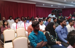 Participants of the panel discussion hosted by Dhivehi Institutes and ICP on occasion of World Mental Health Day 2018. PHOTO: ICP
