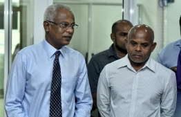 President-Elect Ibrahim Mohamed Solih addresses the staff of Mihaaru Media Family. PHOTO: MIHAARU