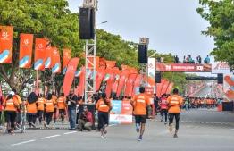 Dhiraagu Maldives Road Race 2019. PHOTO: NISHAN ALI/ MIHAARU