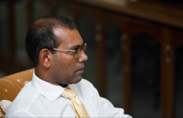 Former President Mohamed Nasheed. PHOTO: HUSSAIN WAHEED/MIHAARU
