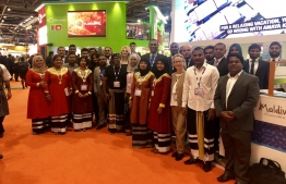 Maldivian delegation at WTM 2018, London. PHOTO: VISIT MALDIVES