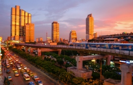 Bangkok, the capital of Thailand.