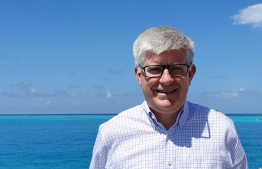John Rogers - the new General Manager of LUX* North Male Atoll. PHOTO: LUX*