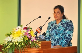 Fathimath Amira, former principal of Centre for Higher Secondary Education. PHOTO: MIHAARU